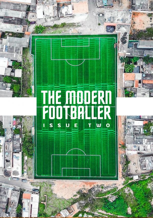 The Modern Footballer Magazine - issue 2 - cover