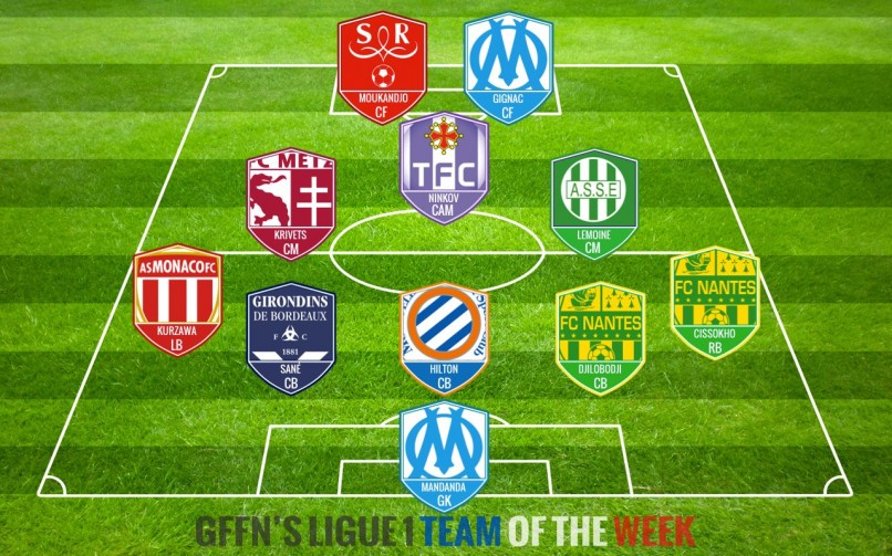 Ligue 1 Team Of The Week 6 2014 2015 Get French Football News
