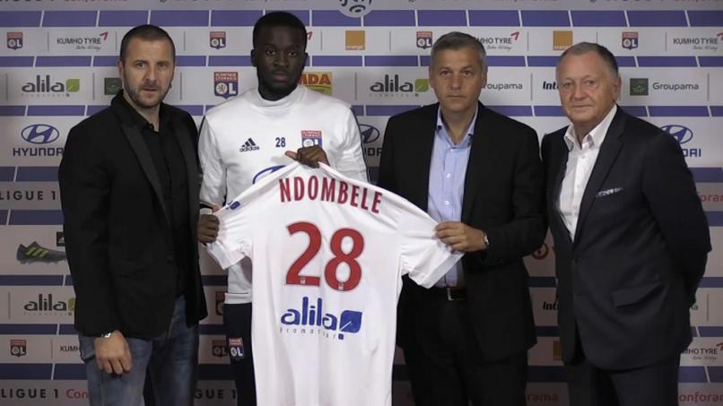 buy online fae79 2784b PROSPECT | Tanguy Ndombele | Get French Football News