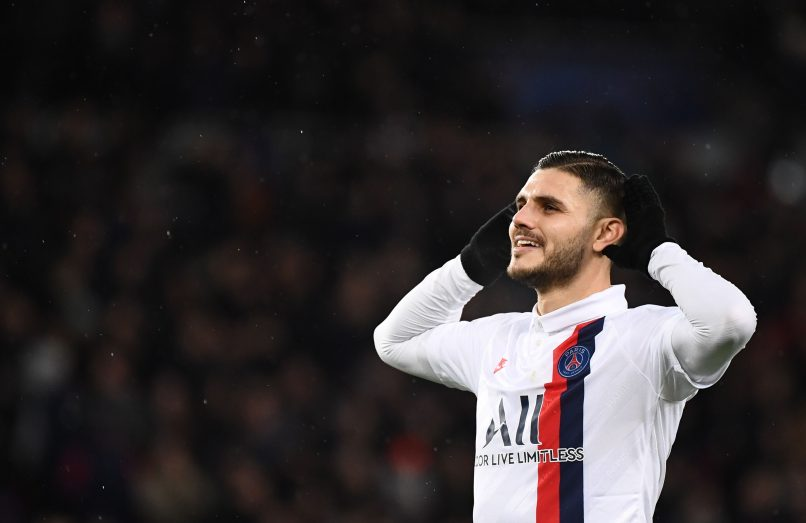 Psg Want To Keep Mauro Icardi Who Has Agreed A Provisional Contract With The Club Get French Football News
