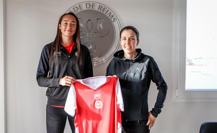 Exclusive American Stade De Reims Goalkeeper Phallon Tullis