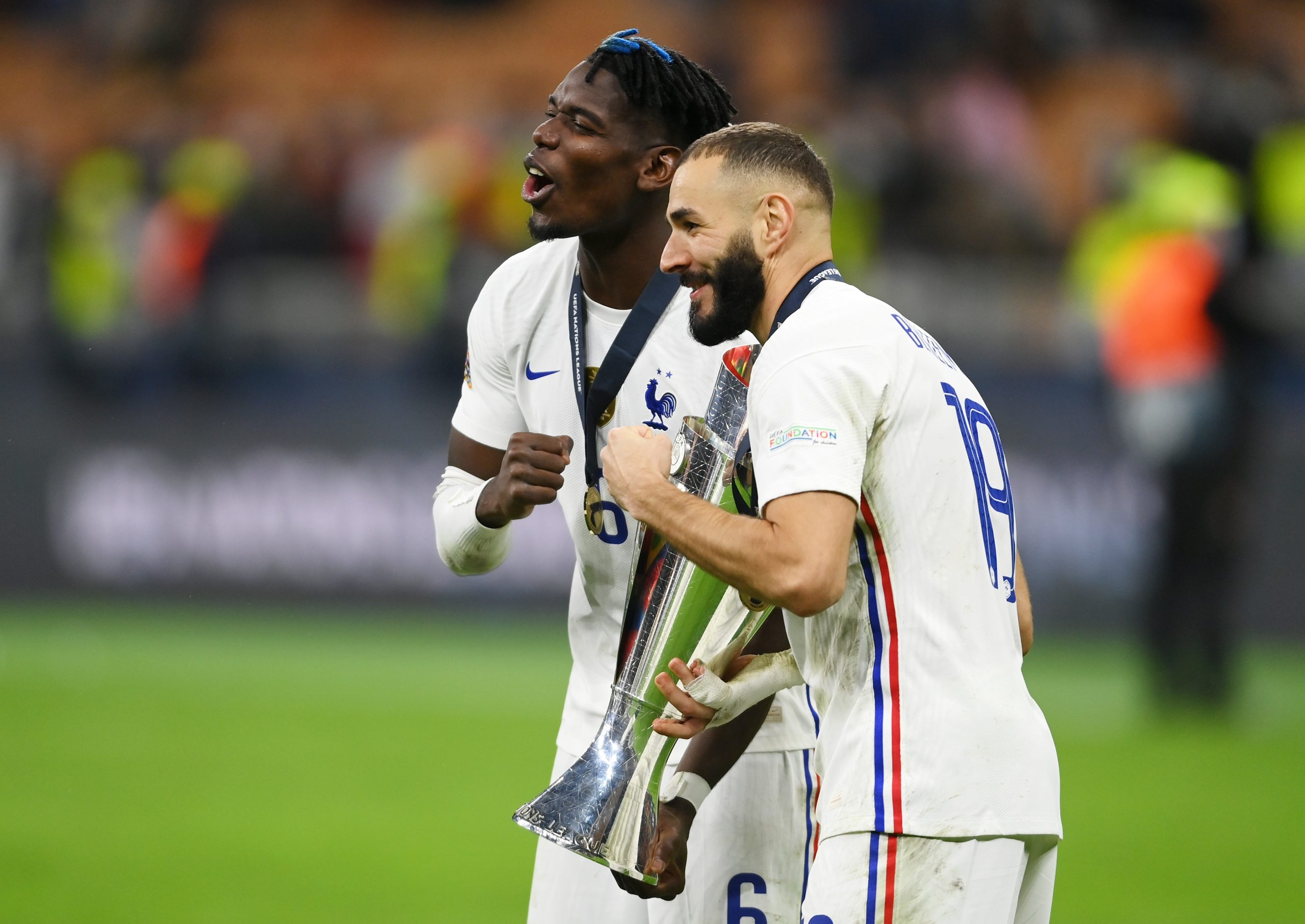 """Karim Benzema reacts to Nations League win: """"This team has great potential."""" 